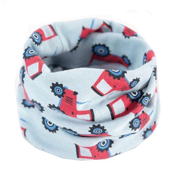 2018 New Cotton Baby Scarf Autumn Winter Boys Girls Warm Scarf Cute O Ring Collars Children Scarves Kids Neckerchief Baby Bibs