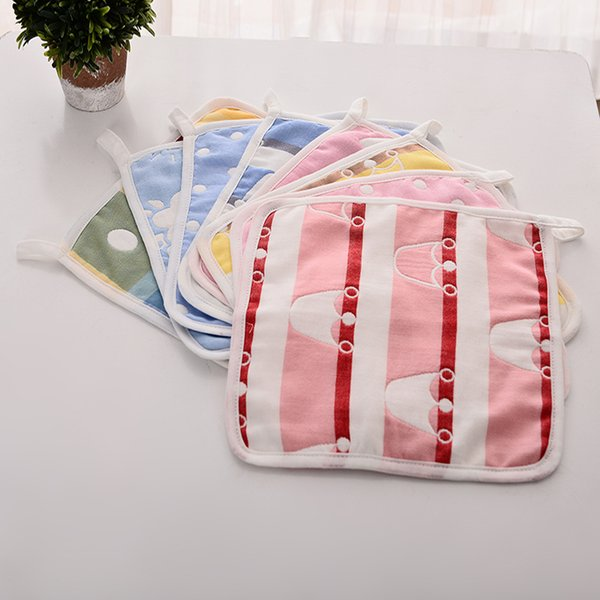 JI-024 2pcs/lot The New Kid Towel Handkerchief Gauze Slobber Face Towel Small Square Towel