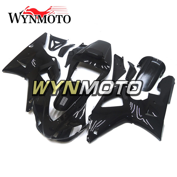 Full Body Frames For YZF1000 R1 1998-1999 98 99 Injection ABS Plastics Fairings Gloss Black Cowling Motorbike Hull Yamaha R1 Frames Bodywork