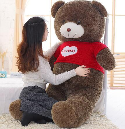 180cm Kawaii Big Soft Toy Stuffed Animals Teddy Bear Gifts for the New Year Kids Toys Baby Plush Dolls Juguetes Brinquedos