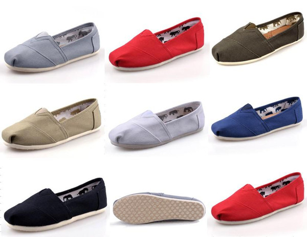 Size 35-40 New Brand Fashion Women Flats Shoes Sneakers Women and Men one for one Canvas Shoes loafers casual shoes Espadrilles