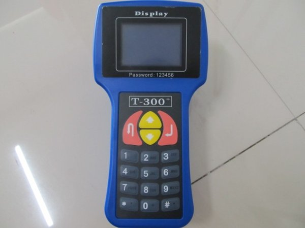 El T300 Auto Key Programmer T 300 Auto Key Decoder para marcas múltiples admite el idioma inglés y español DHL gratuito