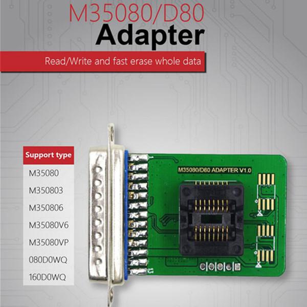 Xhorse VVDI Prog M35080 / D80 Adapter V1.0 VVDI Adapter M350803 M350806 M35080V6 M35080VP Kostenloser Versand