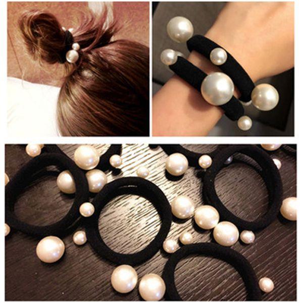 La moda del pelo de la perla del pelo de la perla 2018 ata los accesorios bonitos del pelo