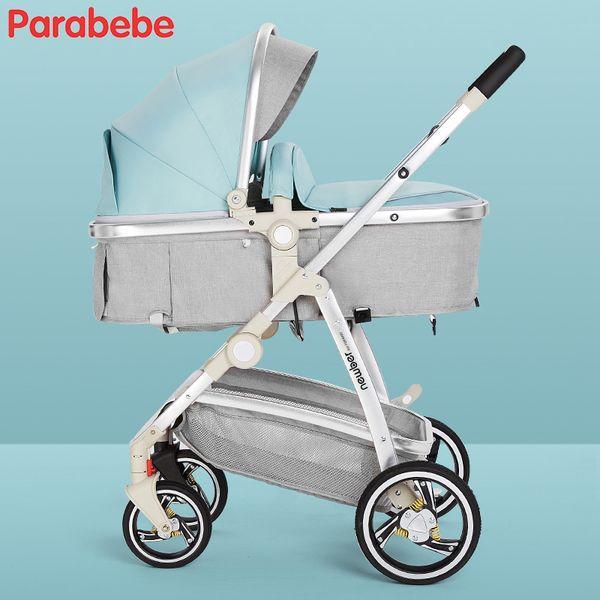 Light Blue Stroller