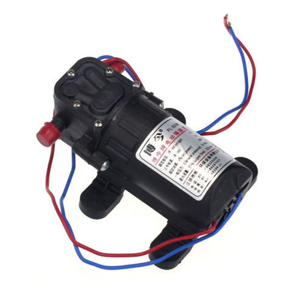 Car-styling rundong 12V Boat Accessory High Pressure Diaphragm Water Self Priming Pump td0126 dropship