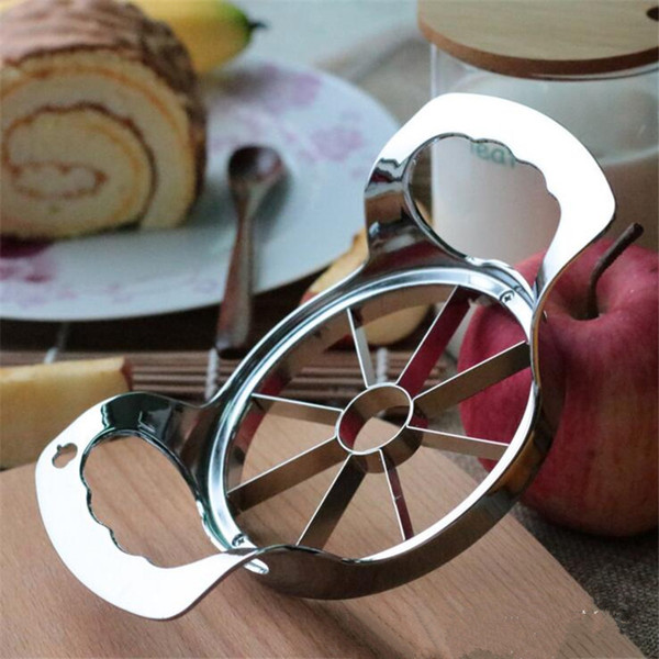 Apple Cutter Stahl Slicer Gemüse Obst Birne Peeler Divider Corer Würfel Küche Gadgets Werkzeuge Apple Cutter Messer