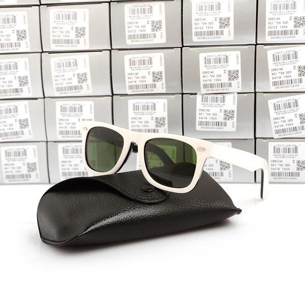 Black white Frame Green Lens 50mm