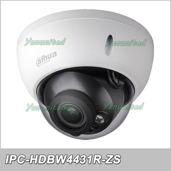 Dahua IPC-HDBW4431R-ZS H.265 PoE 4MP 50M IR IP67 2.8mm-12mm Motorized Lens HDBW4431R-ZS Network Dome Camera