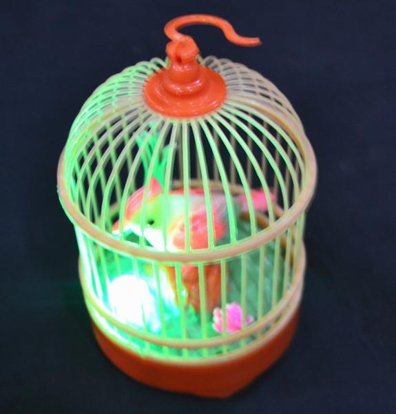 HOGNSIGN Fantezi Plastik çocuk Elektrikli Oyuncaklar Simülasyon Algılama Ses Kontrolü Kuşlar Elektrikli Kuş Hareketli Papağan Oyuncak