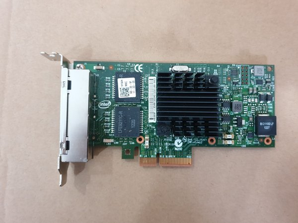I350-T4V2 4-Port Gigabit Ethernet PCI-Express X4 intel I350AM4 Server Adapter Network Card