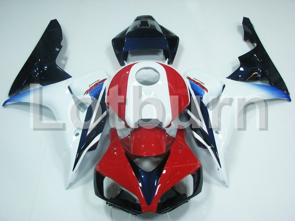 High Quality ABS Plastic Fit For Honda CBR1000RR CBR1000 CBR 1000 RR 2006 2007 06 07 Moto Custom Made Motorcycle Fairing Kit Bodywork A517