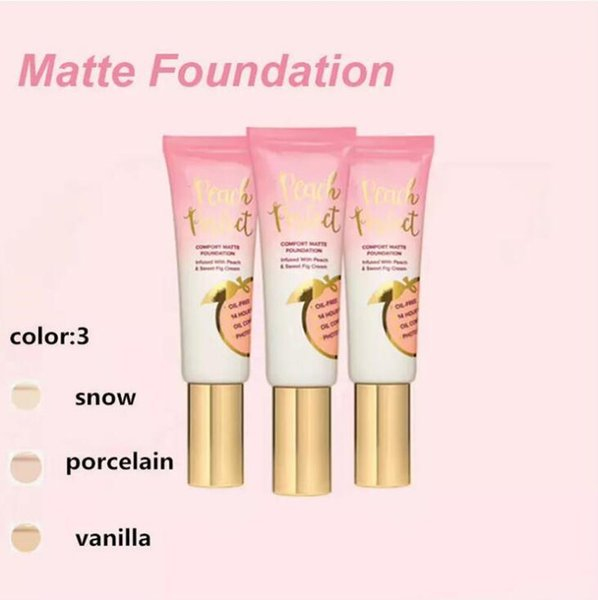 48ml Matte Foundation Makeup Primer Primed Peachy Peach Perfecting Primer Infused with Peach & Sweet Fig Cream