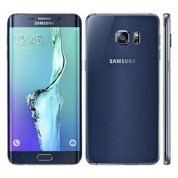 Refurbished Original Samsung Galaxy S6 Rand Plus G928F 5,7 Zoll Octa Core 4 GB RAM 32 GB ROM 16MP 4G LTE entsperrt Smart Handy DHL 1pcs