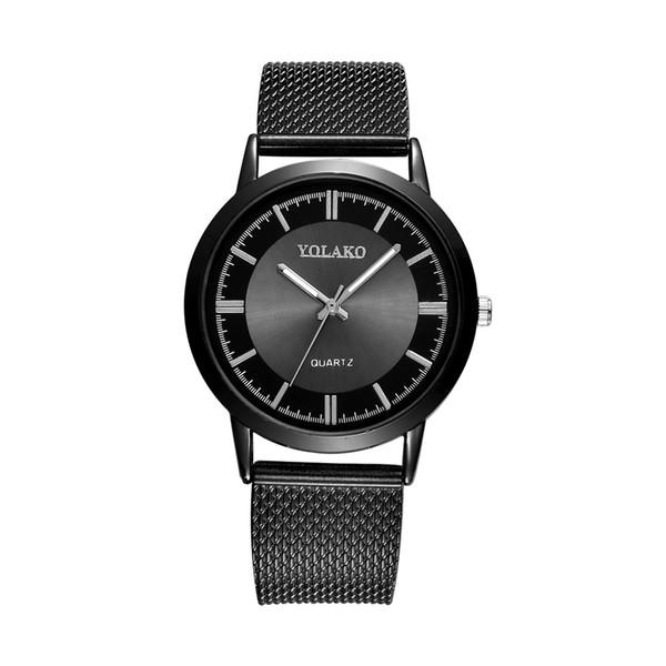 Mesh de la mode féminine avec montre 2019 Simple Tick en alliage de diamant Dial Business Quartz Montre-bracelet # Y073 montre femme a70