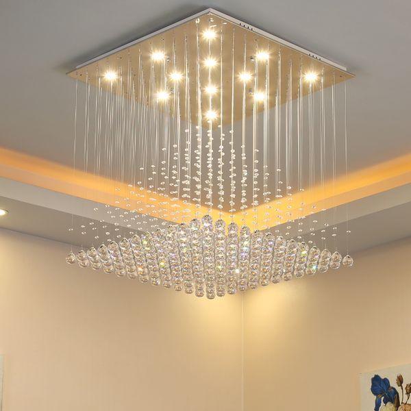 Modern luxury Chandelier Ceiling Light Crystal Ball Fixture Pendant Ceiling Lamp Aisle Porch Lamp Bedroom Living Room Ceiling Balcony Lights