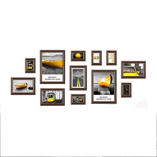 Art Painting Core,Irregular Frame Photo Wall,for Interior dining room living room dining room