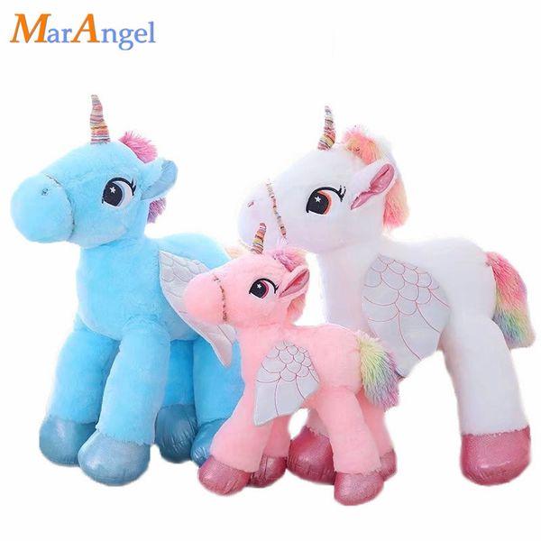Marantel Enorme 50/60 cm Adorável Brinquedo de Pelúcia Recheado io Animal Baby Dolls Macio Dos Desenhos Animados Travesseiro Menina Crianças Presente de Natal