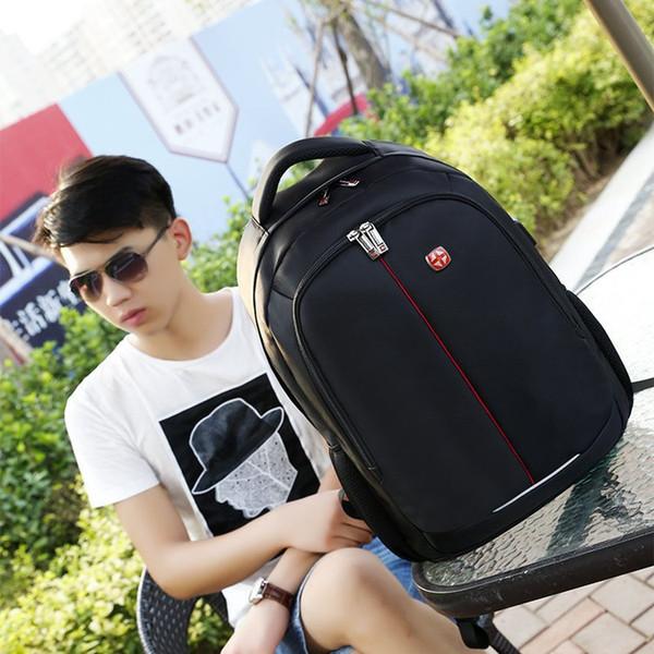 2018 outdoor travel waterproof breathable wear-resistant anti-theft burdens seismic business computer bag backpack schoolbag