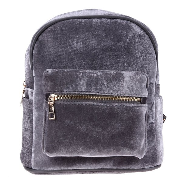 2017 Newest Backpack Women Stylish Cool Faux Suede Small Backpack Female Hot Sale Women Bag Sac a dos Rugzak