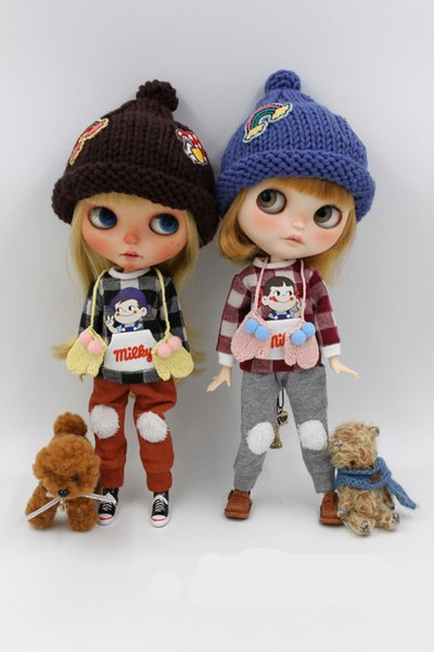JSB07 Fashion Suit BJD doll clothes Two-piece suits for Blyth Doll outfit Clothing Accessories