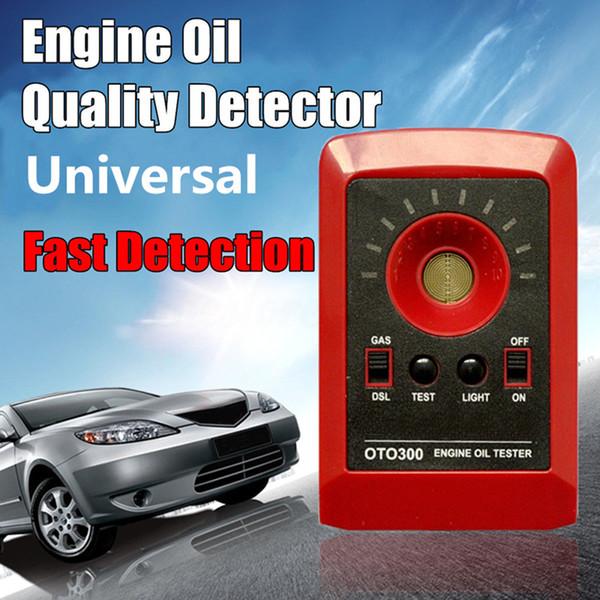 OTO300 Motor Motor Tester de aceite - Camiones Tractores Barcos Cortacéspedes ATVs Motocicletas o cualquier motor diesel de cuatro tiempos de gas