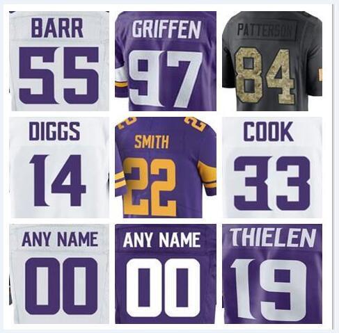 quality design 12c81 5b1d8 2019 Minnesota Stefon Diggs Vikings Jersey Custom Dalvin Cook Teddy  Bridgewater Authentic Sports Youth Kids American Football Jerseys Cheap  Xxxl From ...