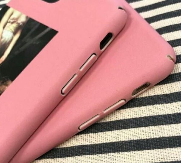 Cassa del telefono della ragazza della pittura a olio retro per il caso di iPhone 7 Casi rigidi del PC della copertura posteriore di arte astratta per il iphone 7 Plus