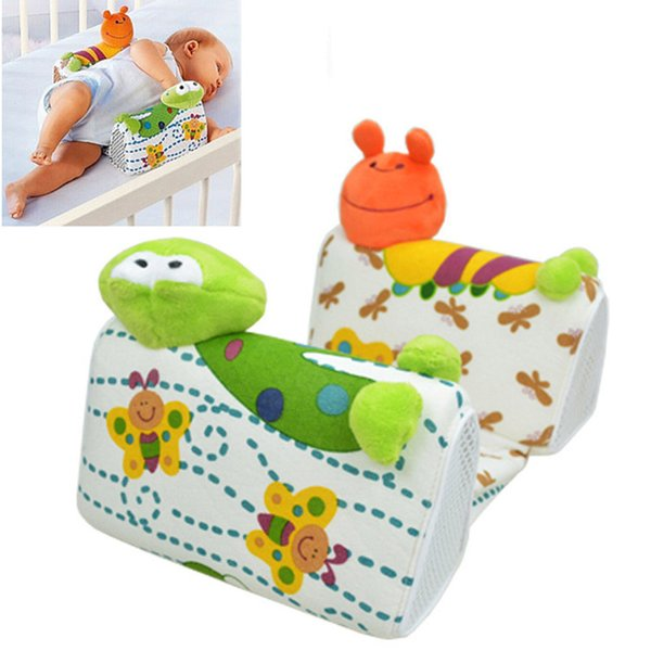 New Baby Sleep Positioner Pillow Anti-Roll Infant Sleep Positioner Newborn Toddler Nursing Pillow Frog Figure A015-25