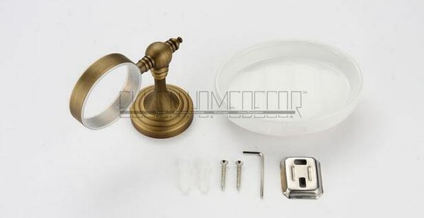 Mode Bronze Keramik Bad-Accessoires Seifenhalter Antik Bronze Seifenschalen Badezimmer Hardware -80285