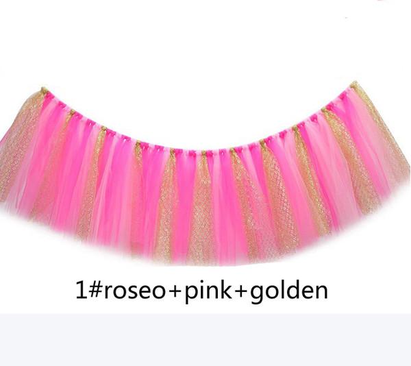 1 roseo pink golden