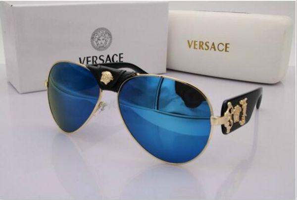 2019 nuevas mujeres de lujo diseñador de la marca de alta calidad gafas de sol de las gafas de sol de las mujeres gafas de sol 0051