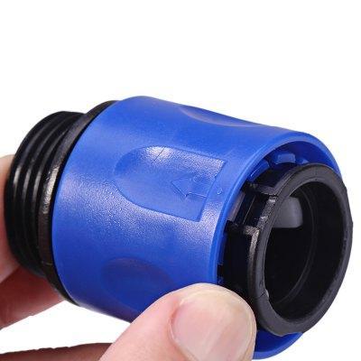 Nueva Llegada Adaptador de Manguera Conector Herramienta de Jardín Tap Spray Stretch Conexión Rápida Fitting Herramientas de Jardín Spray de Riego Proveedores