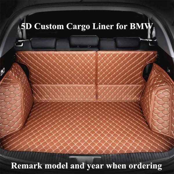 top popular Custom Cargo Liner Car Trunk Mat for BMW x1 x3 x4 X5 X6 M4 M5 M6 2010 2012 2014 2017 2018 years Auto Trunk Mats 2019
