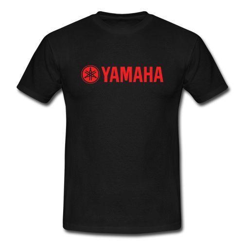 Yamaha Motorrad Racing Männer Unisex T-Shirt YZ 85 125 YZF R1 R6 600 R1 R6 T-Shirt 100% Baumwolle Casual Druck Kurzarm Herren T-Shirt O-Ausschnitt