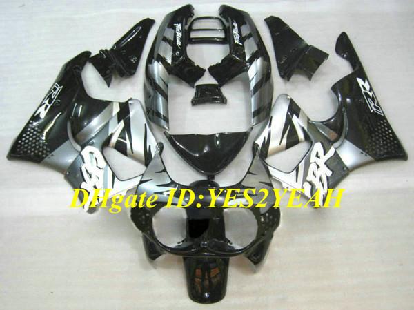 Kit carénage de moto pour Honda CBR900RR 893 91 92 93 94 95 CBR900 RR 1991 1995 Ensemble carénage noir argent + Cadeaux HB08