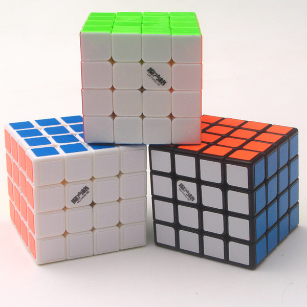 Fantastic Art Cube Grey Skull 4-Order Rubik Cube 60mini Mini 4th Step Rubik Cube Giocattolo da corsa scorrevole