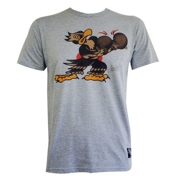 Sailor Jerry Tattoo Put Em' Up Boxing Eagle Slim Fit T-Shirt S-2Xl New Tee Shirt Men Man's Classic Custom Short Sleeve Boyfriend's