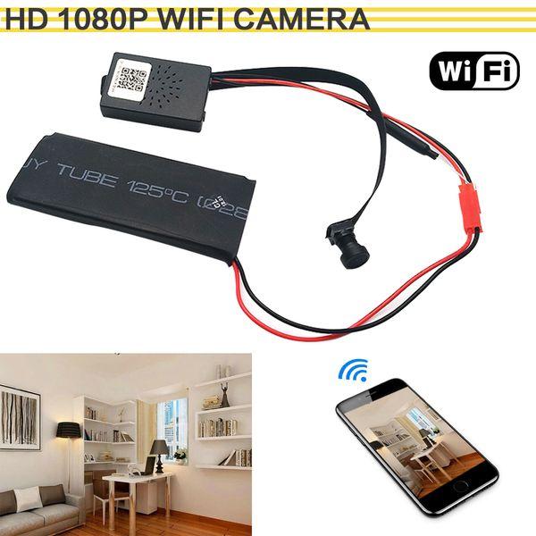 HD 1080 P WIFI Netzwerk Kamera P2P Mini Kamera DIY Wireless Modul Bewegung Aktiviert DV Camcorder mit 3000 mA Baby Monitor f