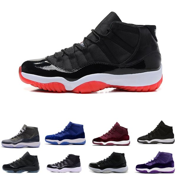 Number 45 11 Spaces Jams Basketball Shoes For Men Women Gym Red 11s Sport Sneakers Midnight Navy Size 55 13