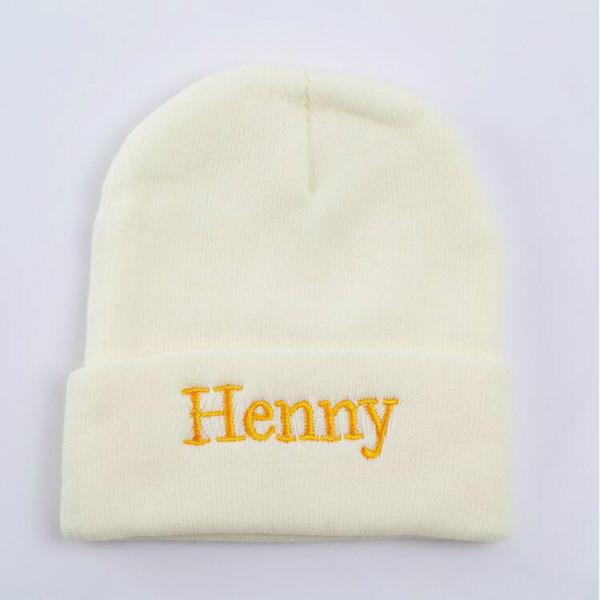 Compre Moda Henny Hip Hop Beanie Sólido Sombrero De Punto Masculino ...