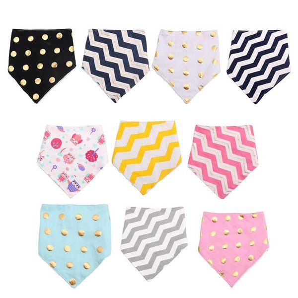 Baby Boy Mädchen Kinder Bandana Lätzchen Säugling Speichel Handtuch Dribble Dreieck Kopftuch