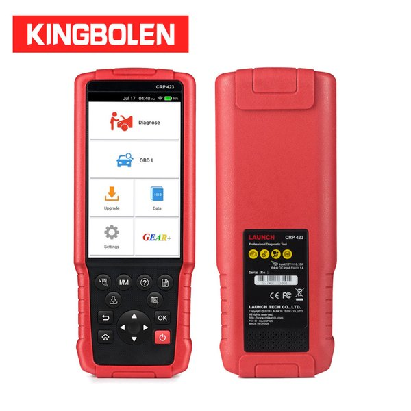 Launch CRP423(Advanced version of CRP123) ABS/SRS/Transmission/Engine Code Reader OBDII Diagnostic Tool X431 CRP 423 Scanner