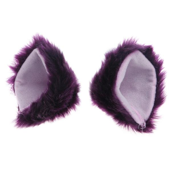 Orecchiette Party's Cat Fox Long Fur Ears Anime Neko Costume Hair Clip Cosplay 2017