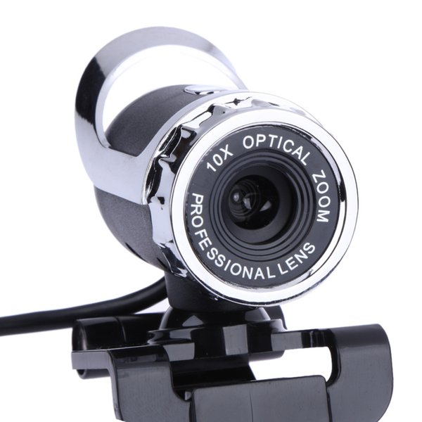 360 Degree Webcam 12 Megapixel CMOS Web Camera 10X Optocal Zoom Clip On Computer Professional Lens for Laptop Computer for Skype