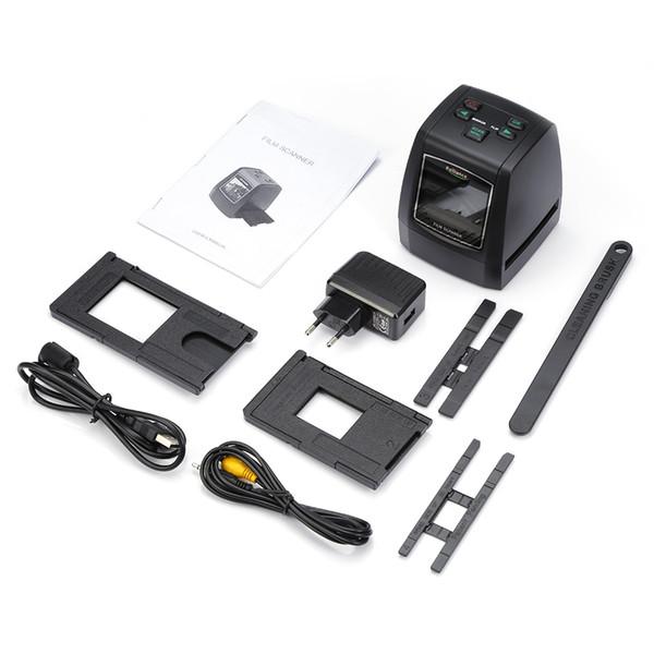 Convertitore scanner diapositive per diapositive con pellicola SD da 14MP 22MP 135mm Scheda SD Scanner diapositive Scanner digitale