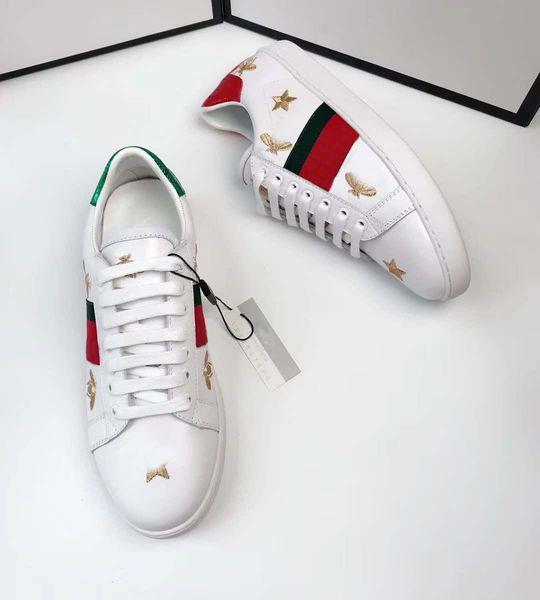 3d901d74a Fashion hot 2018 GUCCI women shoes woman sneaker genuine leather shoes  zapatillas deportivas sapatos femininos sapatilha