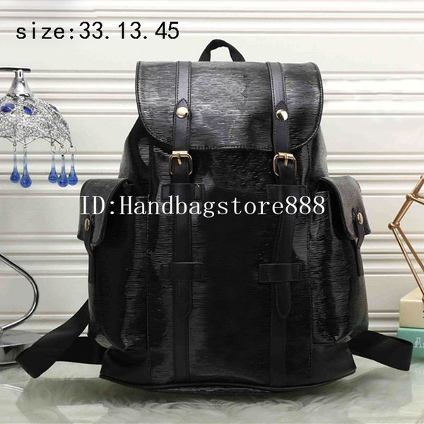 Hot fashion men and women famous brand backpack luxury designer MICHAEL KALLY bags unisex PU leather traval bags large capacity bag purse