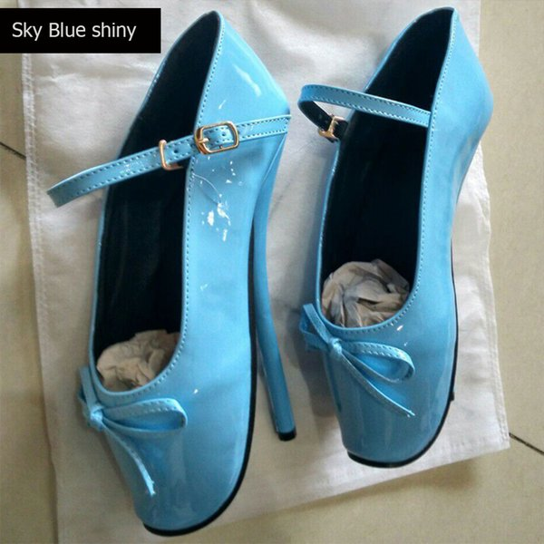 Sky Blue with ankle strap