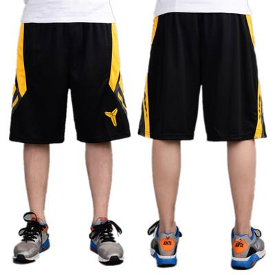best selling Black Mamba Basketball Shorts sports leisure five points pants fitness fast dry knee knee pants